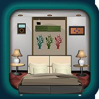 Escape games challenge 264 walkthrough game hfg and for Minimalist house escape walkthrough